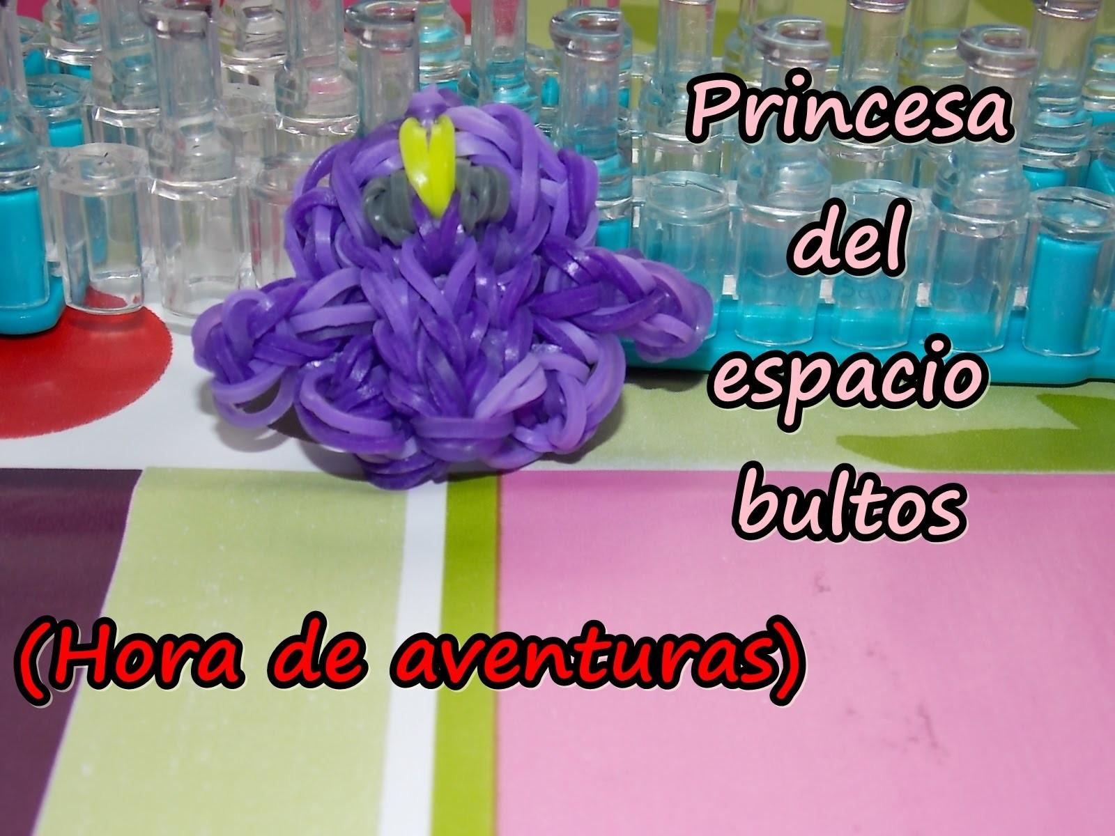 Princesa del espacio bultos. lumpy space on rainbow loom