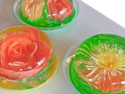 Receta para preparar gelatinas artísticas. Gelatinas artísticas. Serigrafía en gelatinas