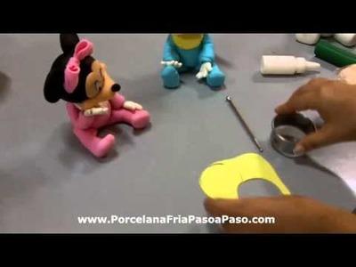 Tips de Porcelana Fria Babero Moño