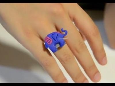 Cómo hacer un anillo con forma de elefante | facilisimo.com