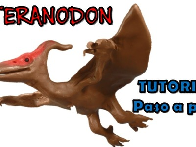 Como hacer un pteranodon de plastilina . How to make a pteranodon  from plasticine
