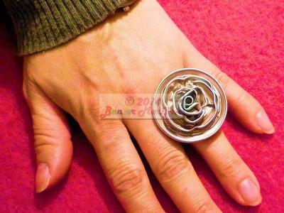 DIY Cómo hacer un anillo de cápsulas de café