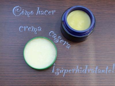 DIY: Cómo hacer una crema natural súperhidratante.