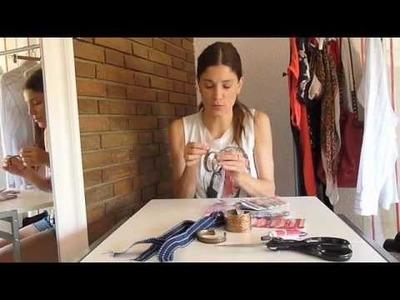 DIY: Hazte un brazalete tirado