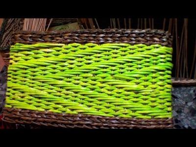 """El dibujo """"Zigzag"""" voluminoso a base del tejido indiano. Parte 1"""