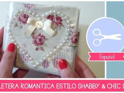 Manualidad como hacer billetera estilo shabby chic  DIY (hazlo tu mismo) by Fantasvale