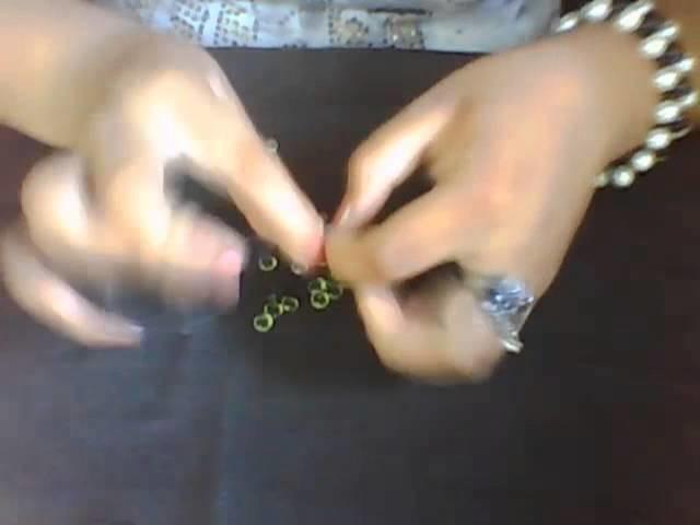 Manualidad de Cally #1 | Como hacer un anillo de bisuteria