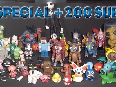 Mi Colección de Figuras en Plastilina y Porcelana Fría. ESPECIAL +200 Subs