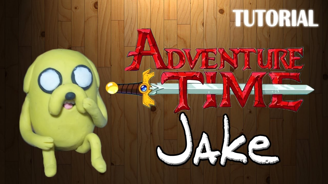 Tutorial Jake en Plastilina   Hora de Aventuras   Jake Clay Tutorial