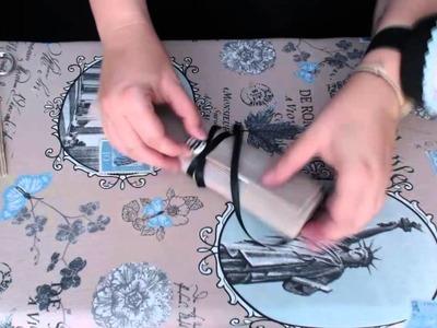 Tutorial: manta para llevar las agujas de ganchillo