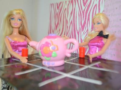 Como hacer mesa para Muñecas * How to make a doll's table