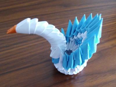 Como hacer un minicisne con origami 3d Origami3
