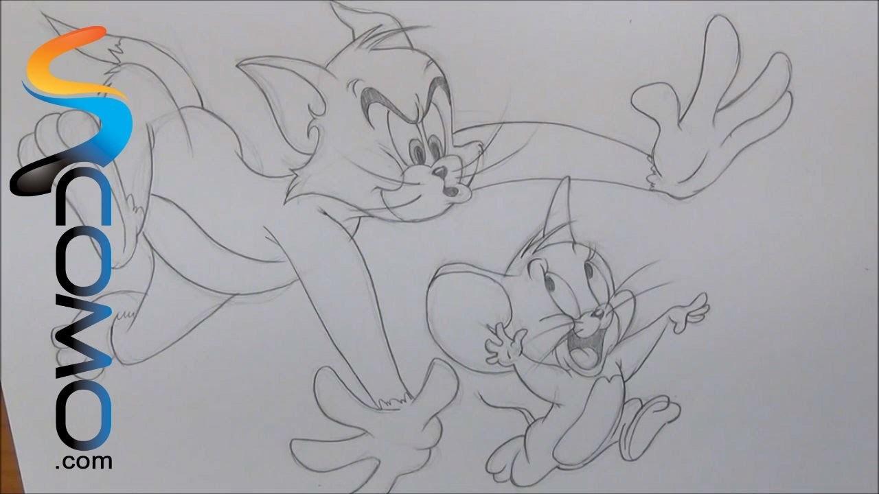 Dibujar a Tom y Jerry
