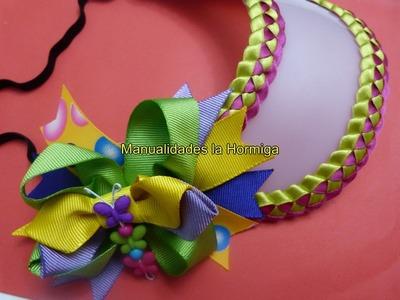 DIY como decorar viceras plasticas con trenzado de cintas paso a paso 332  Manualidadeslahormiga