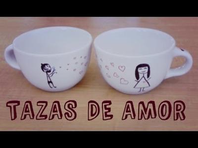 DIY: Decora tazas para regalar. ♥