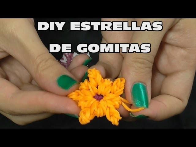 DIY ESTRELLAS DE GOMITAS SIN TELAR, DIY STAR WITHOUT LOOM