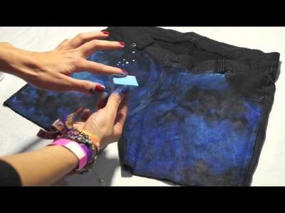 DIY!! GALAXY SHORT | BriandaRubio