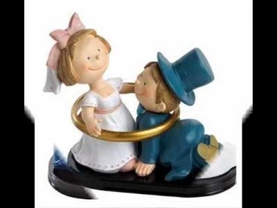 Figuras para pastel de novios