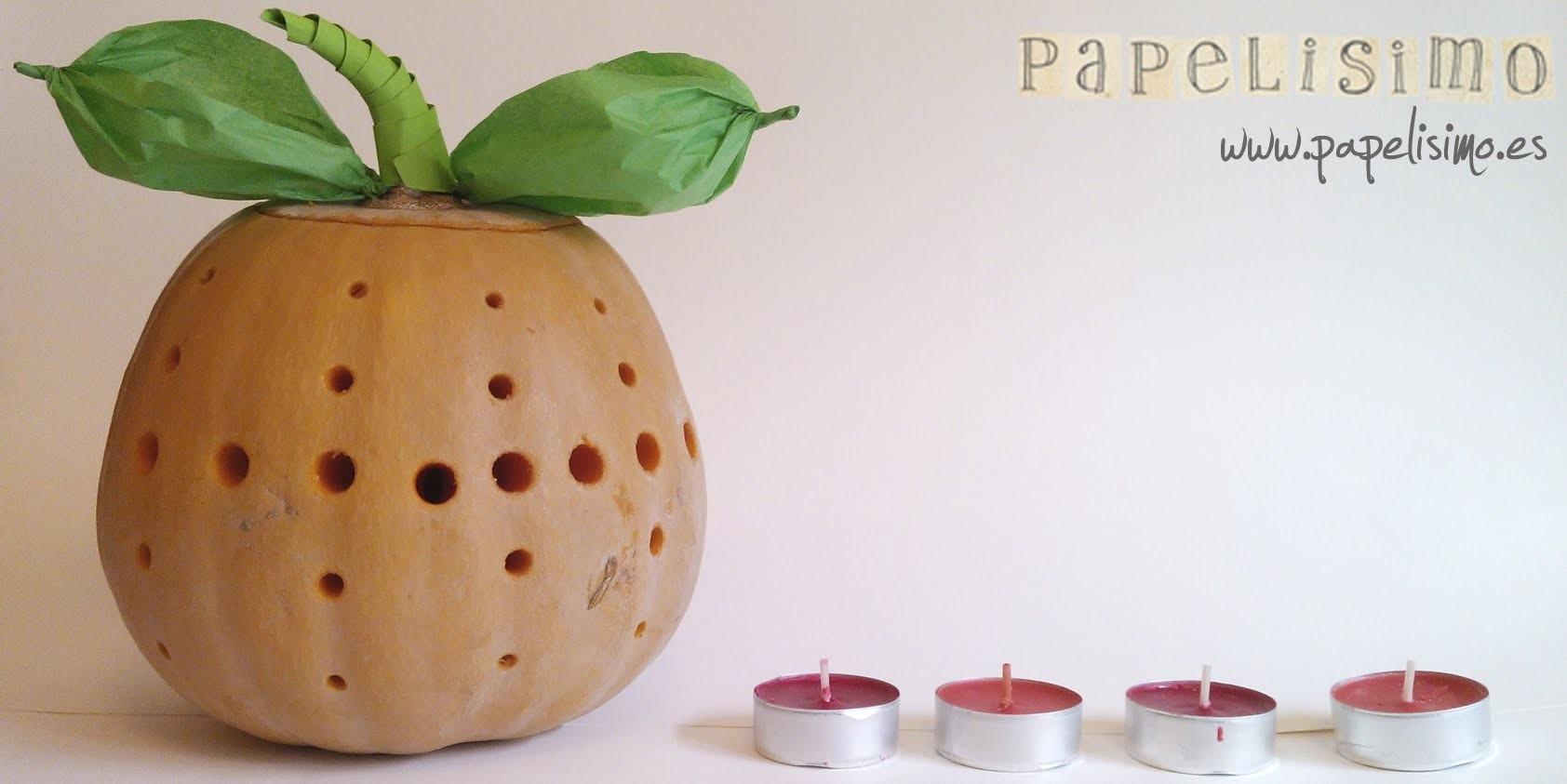 Halloween: Cómo hacer una calabaza muy original usando taladro de pared
