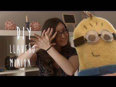 Llavero Minion DIY  :D Manualidad de fieltro fácil y divertida