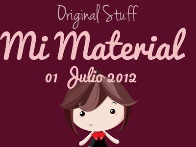 Mi material actual [OS] - Original Stuff