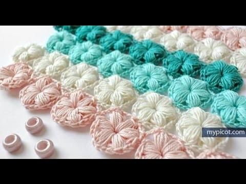 Paso a Paso - Punto Estrella a Crochet