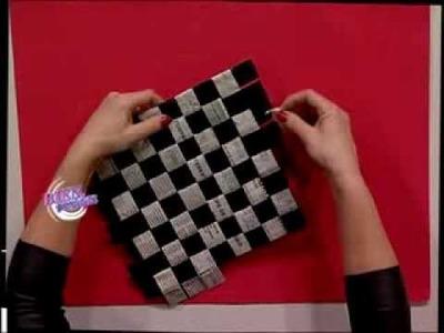 Silvina Buquete - Bienvenidas TV - Crea un juego de damas en cestería.