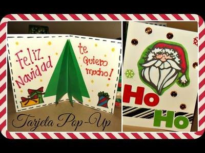 TARJETA NAVIDEÑA POP UP -TUTORIAL ♥