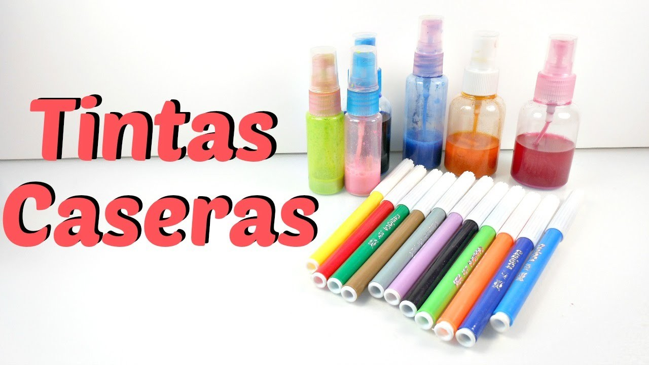 Tintas en spray y Glimmer Mist casero | Mundo@Party