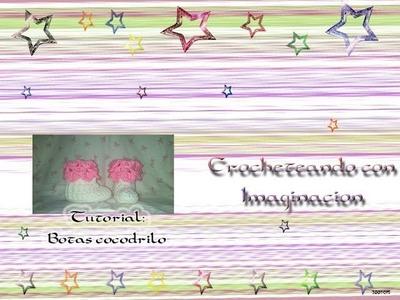 Tutorial: Botas Cocodrilo (version 2)