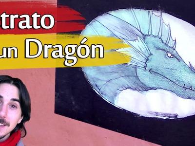 Cómo dibujar el Retrato de un Dragón