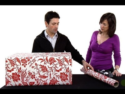 ¿Cómo envolver para regalo un presente de gran tamaño?
