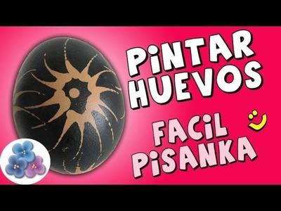 Cómo Pintar Huevos Pisanka *How to Pisanki* Pysanka Pysanky Pintura Facil Para Ti