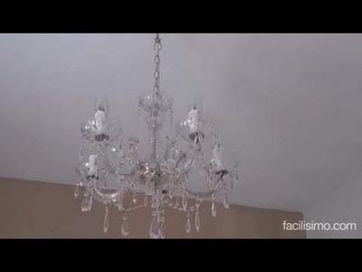 Cómo poner una lámpara de techo | facilisimo.com