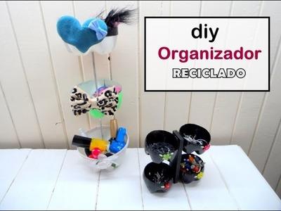 Diy organizador reciclado recycling organizer