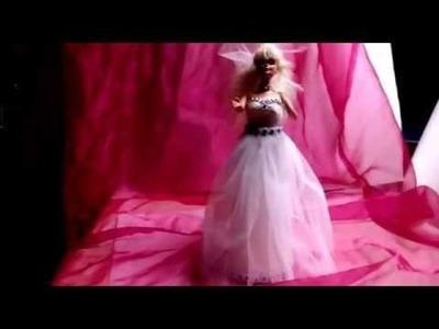 Diy vestido de novia para barbis sin coser 2