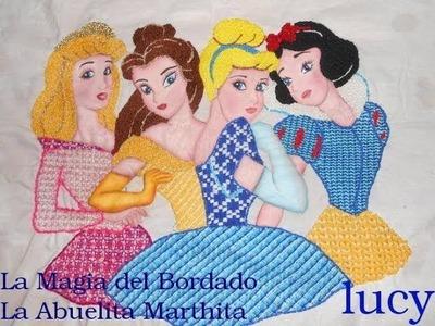 La Magia del Bordado Princesas Hadas Niños