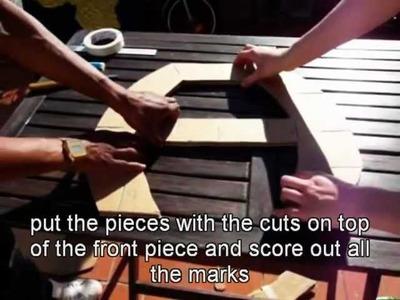 Mucha Tela Capitulo 3. Como hacer un mueble de cartón (how to make cardboard furniture)