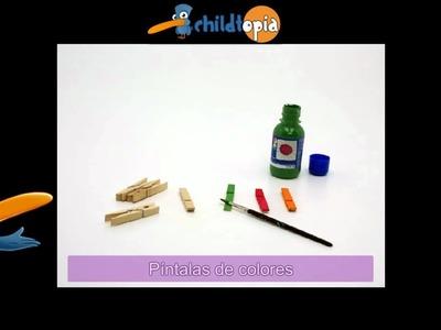Porta lápices. Manualidades infantiles, manualidades con material reciclado