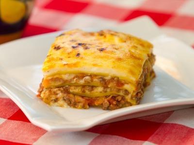 Receta Completa Lasaña Boloñesa o Lasagna Bolognese, Bechamel y Salsa Boloñesa