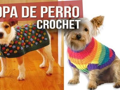 Ropa Para Perro Tejida a Crochet ( ideas y Diseños )