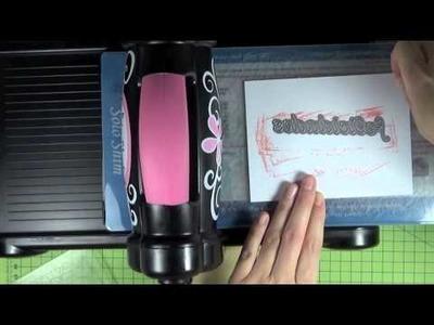 Tarjetas con aperturas diferentes y técnica de embossing frío