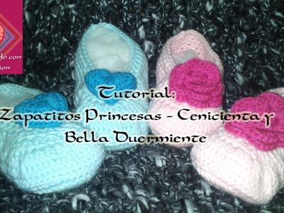 Tutorial: Zapatitos Princesas - Cenicienta y La Bella Duermiente