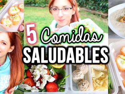 5 Ideas de Comidas Saludables! | SallyWinther