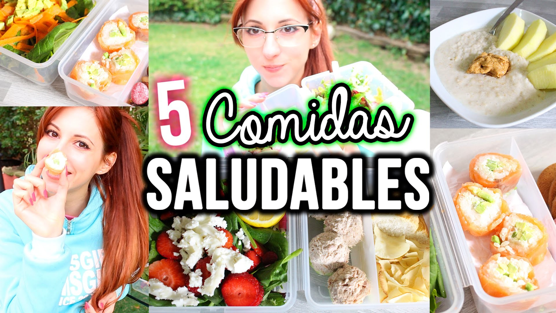 5 Ideas de Comidas Saludables! | SallyWinther