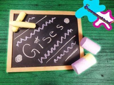 Aprende a hacer gises.tizas de colores ▼SUPERMANUALIDADES▼