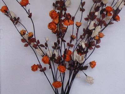 Arreglos florales. Manualidades fáciles