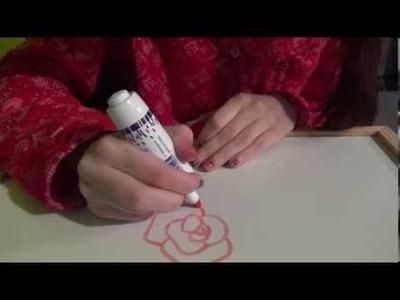 ASMR en español: Dibujando cositas en una pizarra. (Petición)