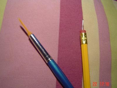♥ Como crear herramientas y pinceles para nail art :3 ♥