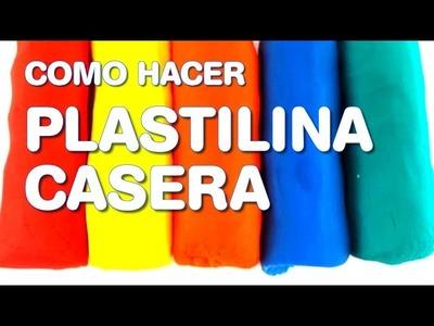 Como Hacer Plastilina Casera Tipo Play Doh | Manualidades | Plastilina Hecha en Casa para Niños!
